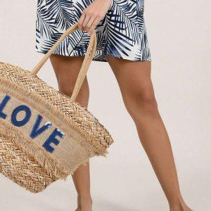 Blue Love Bag