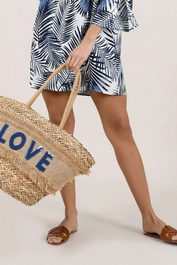 Blue Love Bag