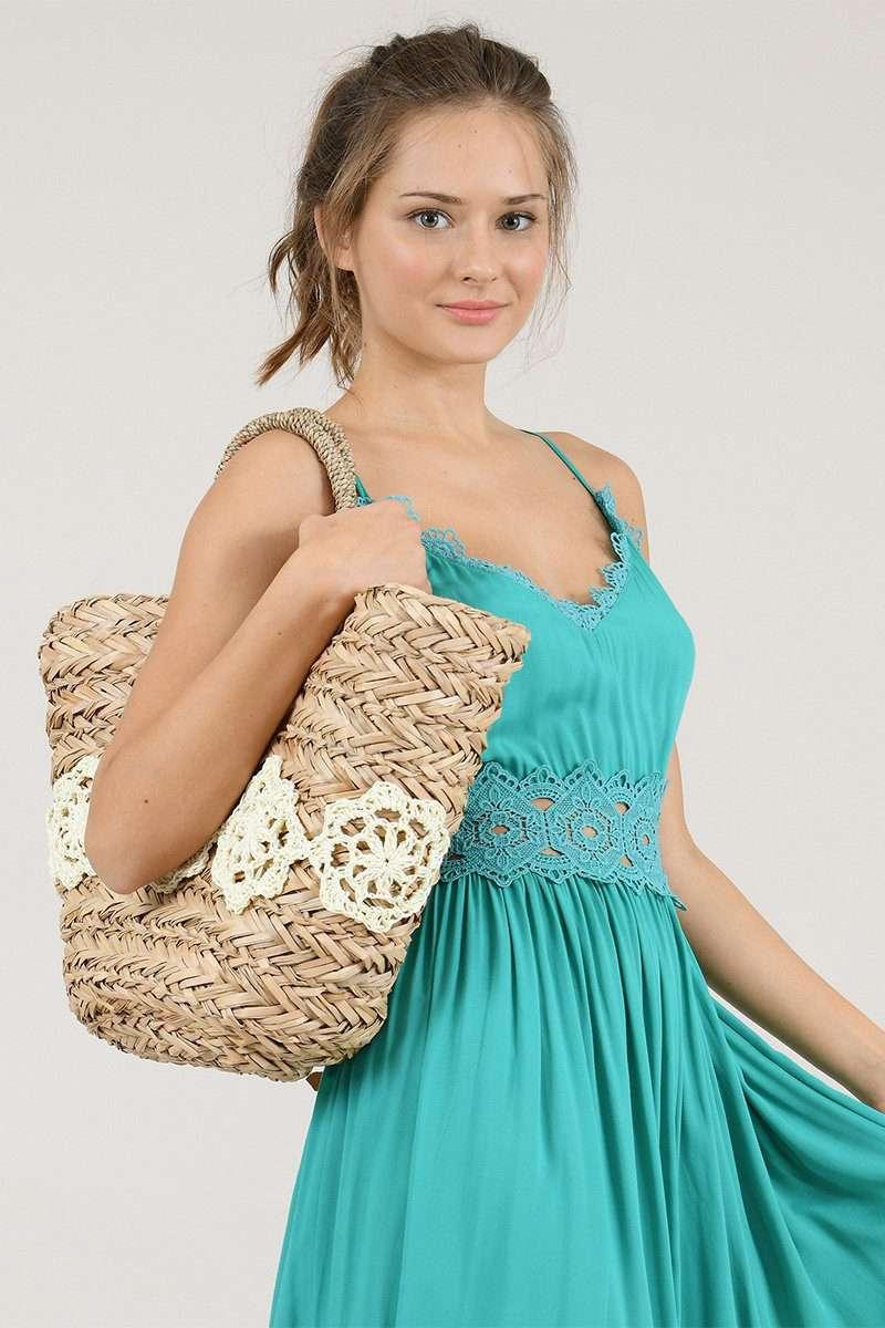 Doily Doll Bag
