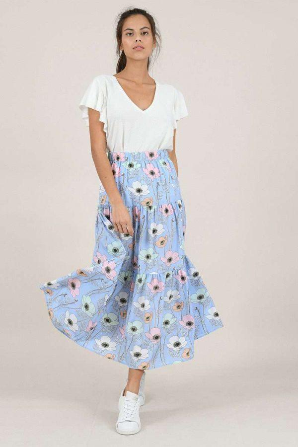 I Love Spring Skirt